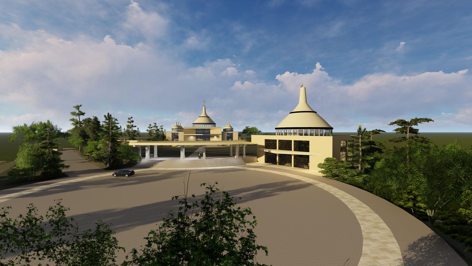 Basilica at Kibeho