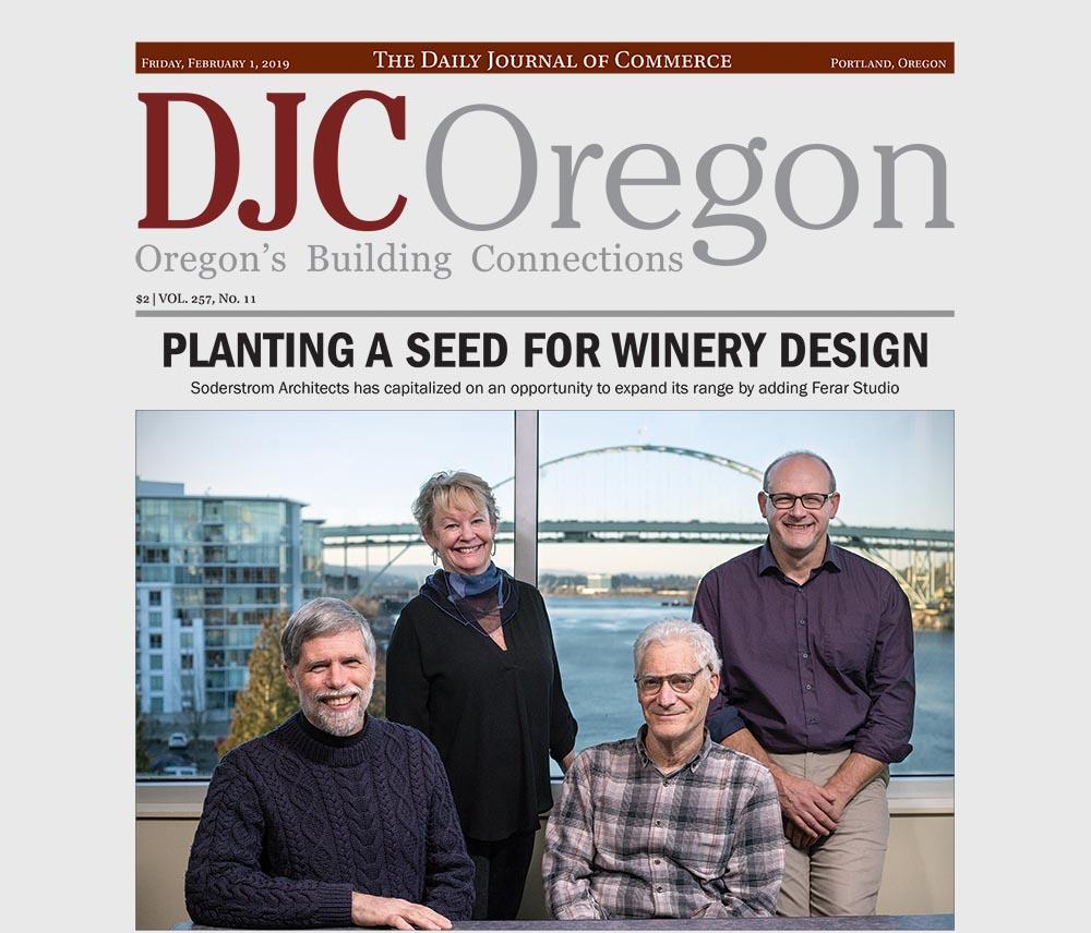 DJC Winery Architecture Press Release