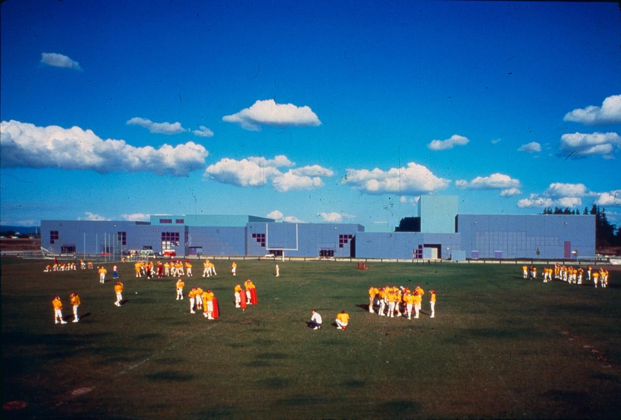 Forest Grove High School field David Soderstrom